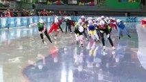 Speed Skating Ji Woo Park wins  AT Lillehammer 2016 Youth Olympic Games
