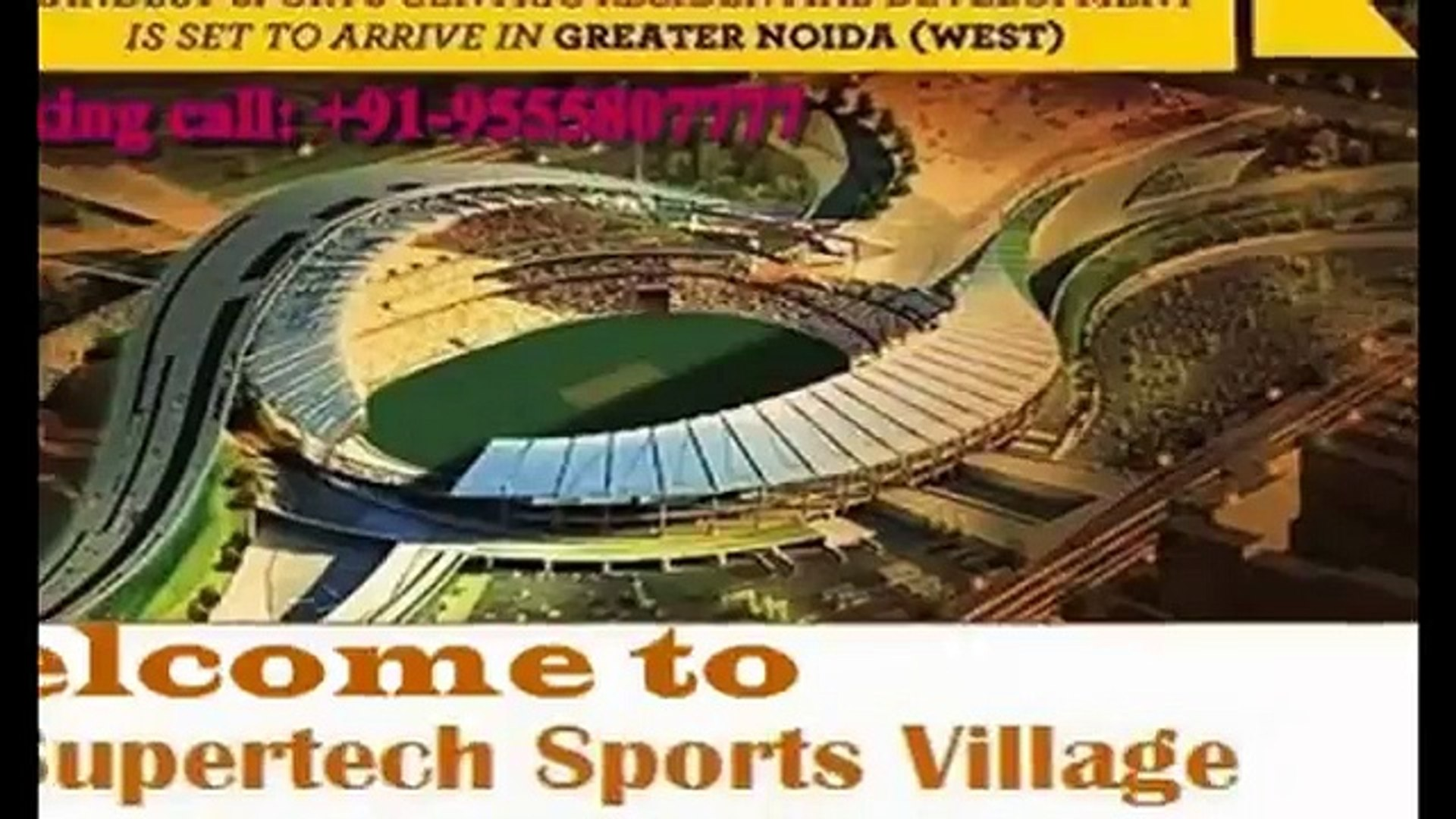 Supertech Sports Village, Sports Republic City