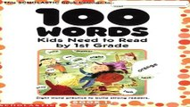 Download 100 Words Kids Need to Read by 1st Grade  Sight Word Practice to Build Strong Readers