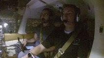 Voler au dessus de Chicago de nuit en Cessna. Magique