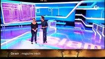 """Cyril Féraud fait ses adieux à Julien Lepers hier soir dans """"Slam"""" - Regardez"""