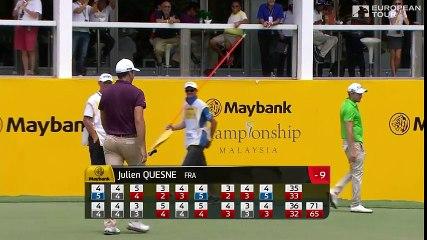 Julien Quesne  - 3e tour au Maybank Open