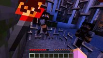 Minecraft Forever Play - Sneaking into school?! - video