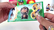 PAW PATROL Nickelodeon Play Doh Surprise Eggs Toys with Chase, Marshall, Rubble // TUYC