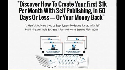 Kindle 1k System Review | $1k Per Month With Self Publishing