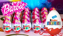 Barbie Kinder Surprise Egss Unboxing Egg Barbie New Video Egg & Play Doh - Kinder Surprise Toys Peppa Pig Abc Alphabet Song