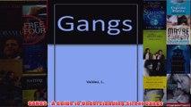 Download PDF  GANGS  A Guide to Understanding Street Gangs FULL FREE