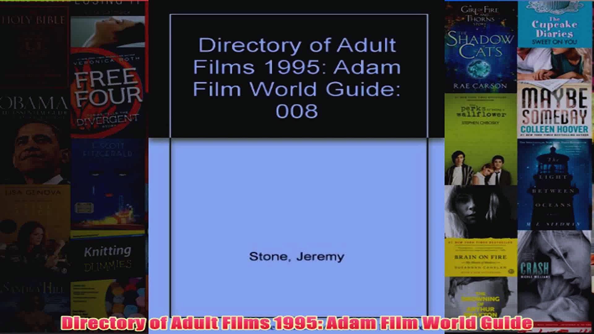 Download PDF Directory of Adult Films 1995 Adam Film World Guide FULL FREE