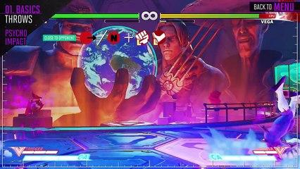 Tutoriel M. Bison  de Street Fighter V