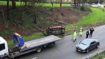 Brest - Info Accident de la circulation.