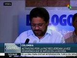 Colombia: expertos abogan porque FARC haga pedagogía de la paz