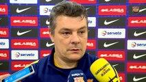 FCB Handbol: Valoracions de Xavi Pascual a la prèvia del FC Barcelona Lassa - Pick Szeged [CAT]