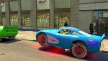 Ironman with Cars Custom Lightning McQueen Green FUN! Avengers Hulk & Nursery Rhymes for Children