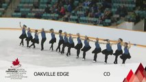 2016 SC SYNCHRO NATIONALS -OPEN FREE PROGRAM 2 - GROUP 1