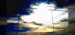 FEBRUARY 2016 STRANGE SKIES! WEIRD CLOUDS, 2 SUNS, NIBIRU, FIERY RED DRAGON.
