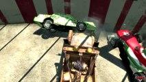 Tow Mater Chick Hicks Francesco Bernoulli Disney car Pixar Arena Battle