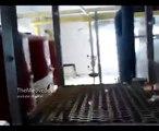 Аэропорт Донецка ополченцы в здании котельной / Donetsk airport militias in the building boiler