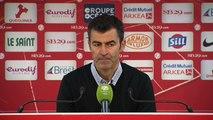 Réaction de Rui Almeida après Stade Brestois 29 - Red Star