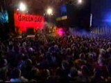 Green Day-Basketcase live at concert from MTV