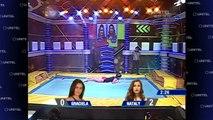 ESCALERA CON GIRO: GRACIELA ganó la prueba y manda a BANCA a NATALY!!!