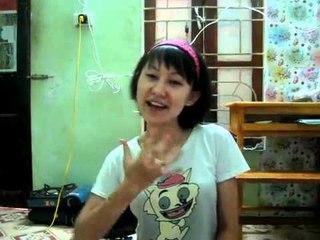 Đặng Hoàng Nhu (Cô gái 'hát bằng tay') - Họa mi tóc nâu