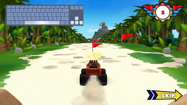 Blaze and the Monster Machines: Game Blaze Dragon Island Race Kids Games TV