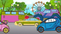 ✔ Мультфильмы для Детей все серии подряд / Монстр Трак и Пожарная машина / Cars Cartoons For kids ✔