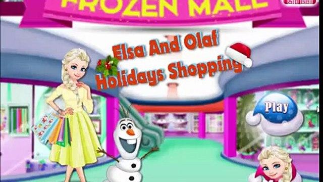 Disney Frozen Games - Elsa Holidays Shopping – Best Disney Princess Games For Girls And Kids