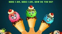 Finger Family Collection | 5 Ice Cream Finger Family Songs | Daddy Finger Nursery Rhymes