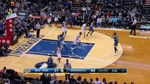Andrew Wiggins Drive and Dunk   Knicks vs Timberwolves   Feb 20, 2016   NBA 2015-16 Season (FULL HD)
