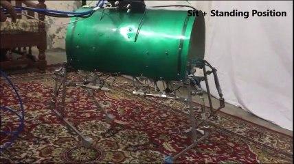 Small 4 legged robot