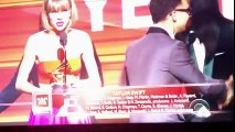 Album of the Year - Taylor Swift at the Grammy's 2016-HOLLYWOOD BUZZ TV