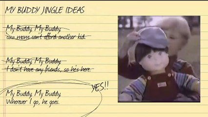 Rejected Jingles: My Buddy