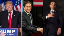 Trump, Rubio, Cruz claim wins in S.C., as Bush exits race