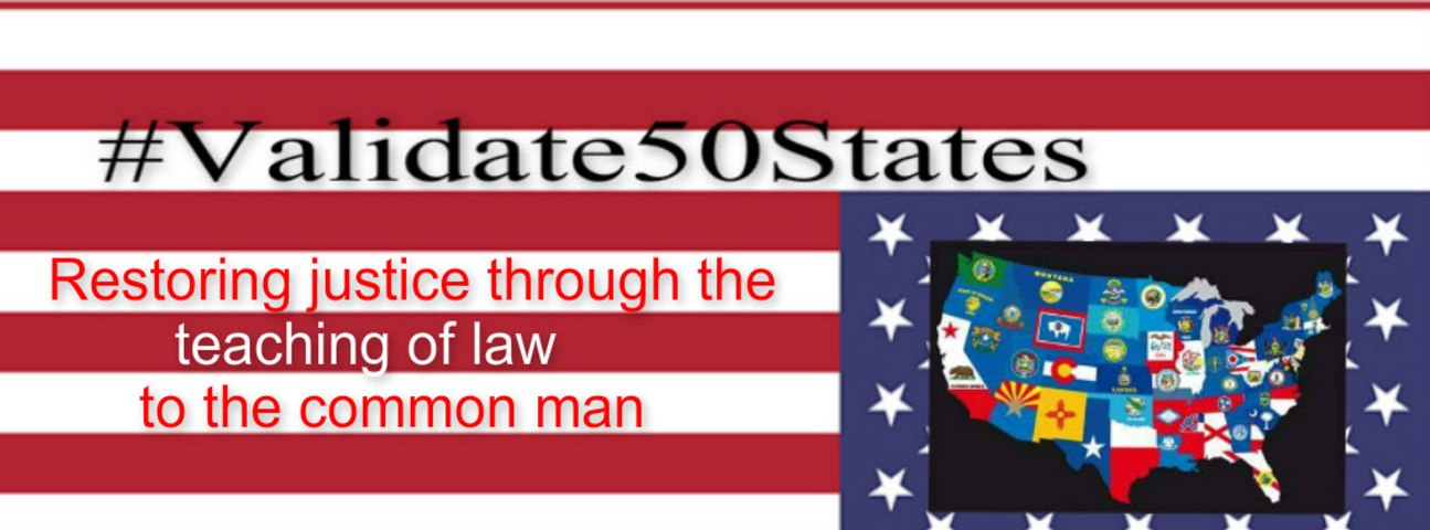 #Validate50states site launch