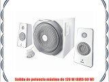 Trust Tytan 2.1 Bluetooth - Set de altavoces (inalámbrico 2.1 subwoofer de 120 W) blanco