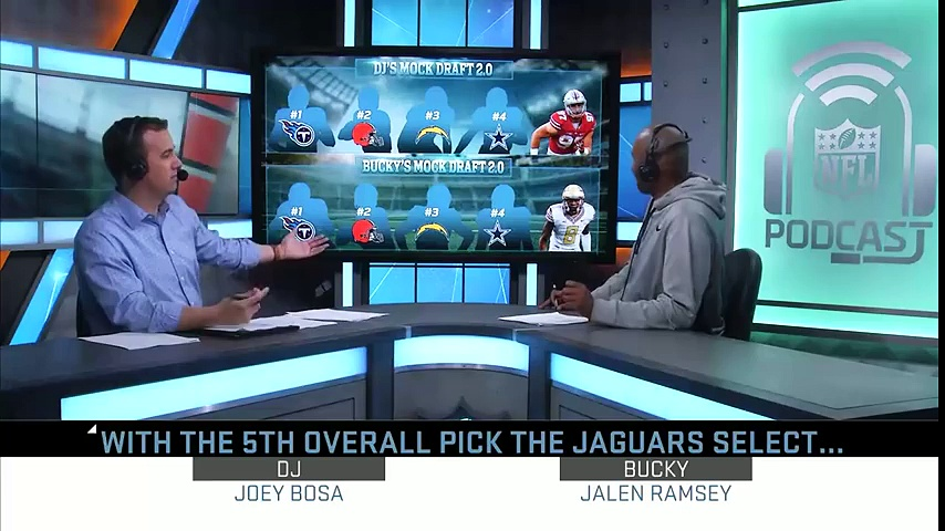 Daniel Jeremiah & Bucky Brooks 2016 NFL Mock Draft Picks 1-5   Move the Sticks   NFL