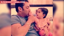 LEAKED VIDEO- Salman Khan's Cutest Moment With A Toddler  very cute moment of salman khan