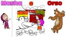 Macha et lOurs de langlais! Comment Dessiner en ligne, Masha et lOurs! - 2016