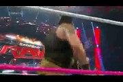 WWE RAW 5-10-2015 Roman Reigns _ Randy orton _ Dean Ambrose vs Wyatt Family Full