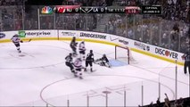 Quick glove save on Sykora. New Jersey Devils vs LA Kings Stanley Cup Game 4 6612 NHL Hockey