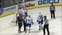 Ryan Miller robs Phil Kessel. Toronto Maples Leafs vs Buffalo Sabres 4312 NHL Hockey