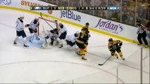 Ryan Miller robs Zdeno Chara 31 Jan 2013 Buffalo Sabres vs Boston Bruins NHL Hockey