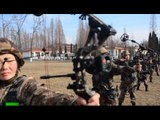 RAW: Chinese infantry in combat drill action, even archery