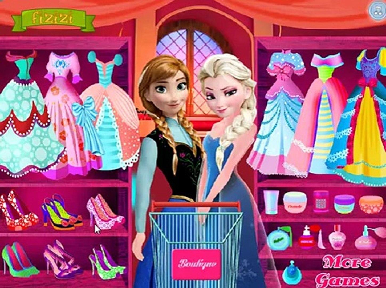 Elsa and Anna Prom Prep / Эльза и Анна собираютя на бал