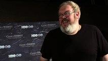Game of Thrones Season 4 Kristian Nairn on Why Hodor Should #TakeTheThrone (HBO)