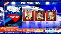Hillary Clinton y Donald Trump salen fortalecidos de las contiendas electorales en Nevada y Carolina