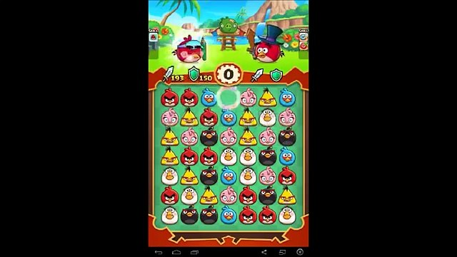 Angry Birds Fight - Angry Birds Monster Pig Gameplay - Angry Birds Game