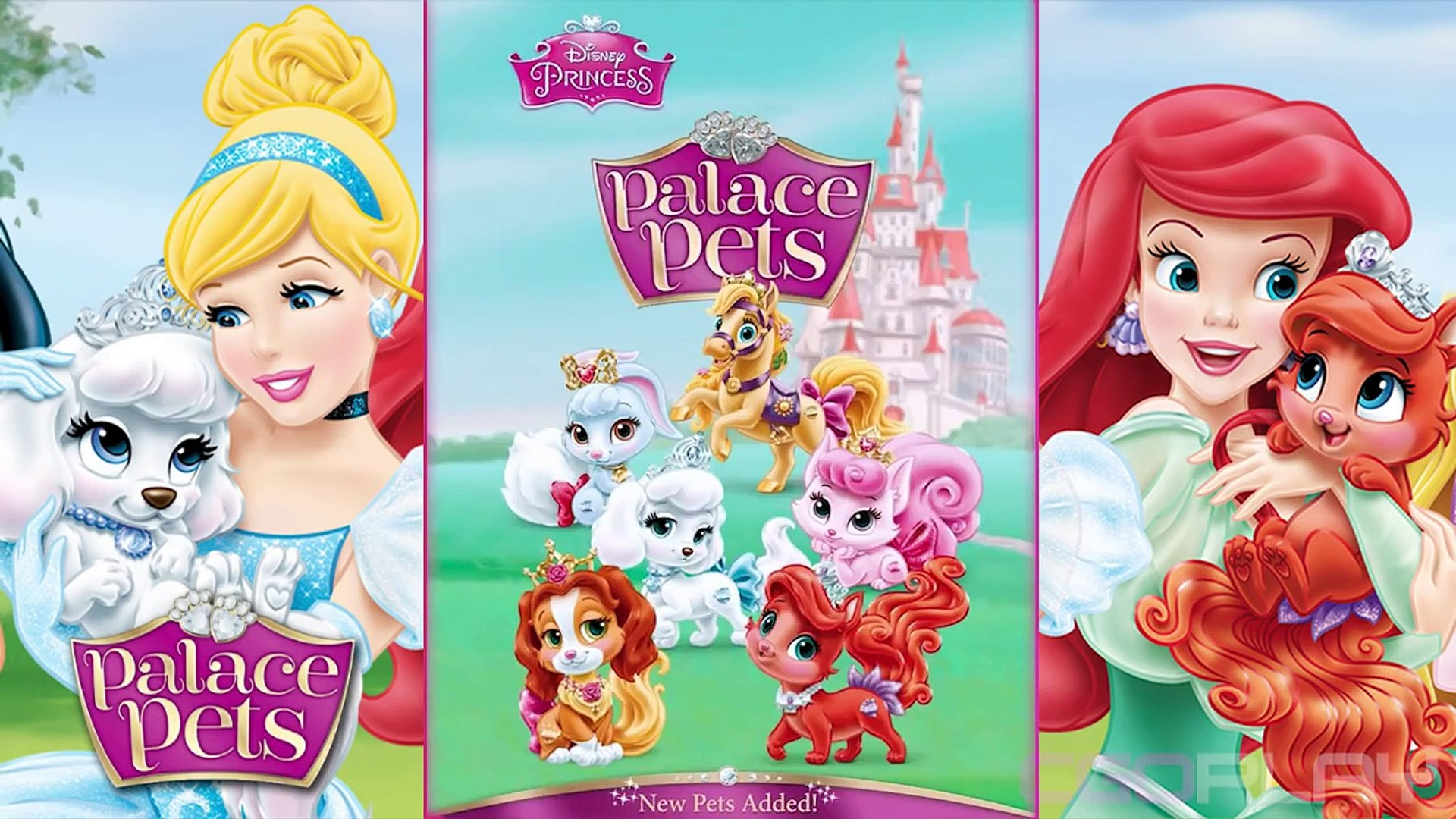 ♥ Disney Princess Palace Pets - Jasmine & Lapis NEW PET (Princess Palace Pets Game for Children)