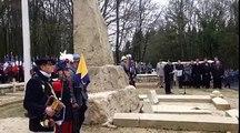 Cérémonie du combat du Bois des Caures à Verdun pour le centenaire du début des combats